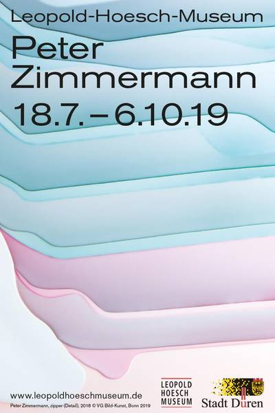 "Peter Zimmermann: Solo exhibition ""Abstractness"" at Leopold-Hoesch-Museum in Düren (DE)"