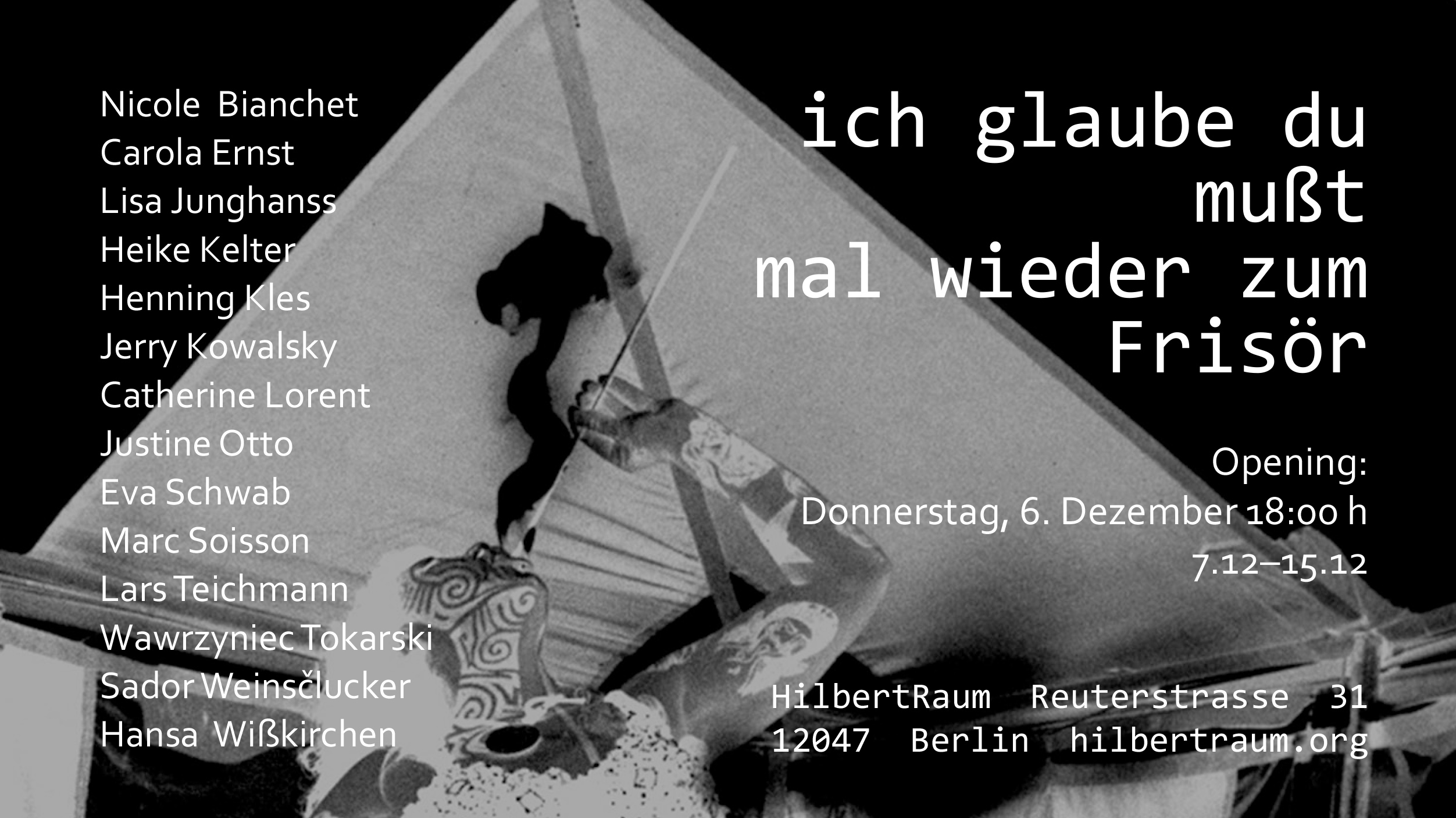 Wawrzyniec Tokarski: Group show at HilbertRaum Berlin